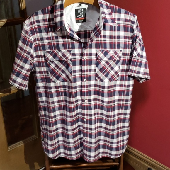 Vans Other - Van's off the wall short sleeve button down shirt